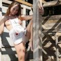 Sex und Flirten vor der Webcam, ein heißes Girl