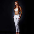 Samantha Red Elite hooker learn about Frankfurt escorts for home visits with bi service couples order