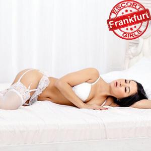 Karina High Class Escort Ladies In Frankfurt am Main In Sexy Lingerie Book