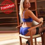 Sahra Escort Frankfurt FFM Hobbymodel bestellen für Sex mit Doppeldildo