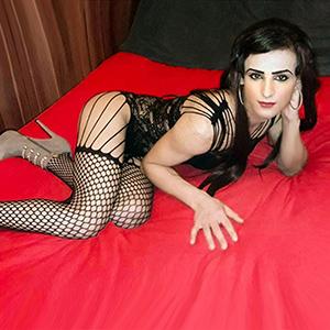 Trans Cleopatra - Begleitagentur mit kleinen TS Shemales für One Night Stand im Motel Wohnung